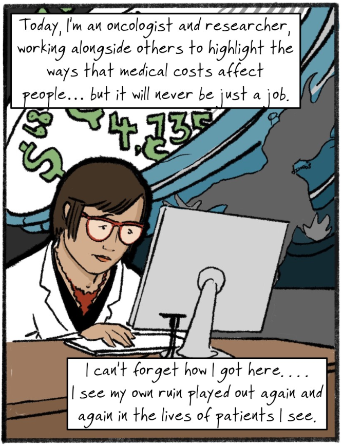 A panel from the Los Angeles Times graphic Op-Ed. Text by Fumiko Chino, illustration by Nathan Gray.