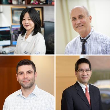 Dr. Nancy Y. Lee, Dr. David G. Pfister, Dr. Richard J. Wong, and Dr. Abraham Aragones.