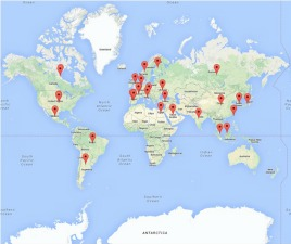 ORCID Map