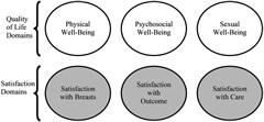 Fig. 1. BREAST-Q© conceptual framework.