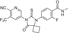 Apalutamide for the treatment of prostate cancer. Fig. 2 Structure of apalutamide.