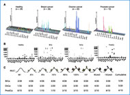 Fig 1. Microarray platform for detection of MUC1 O-glycopeptide-specific antibodies. Immunization of cancer patients with GalNAc-MUC1 break tolerance eliciting glycopeptide-specific antibodies.
